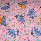 MadieBs Eeynore Pink Pooh  Custom  Window Valance New