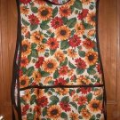 MadieBs Fall Autum Flowers Colors  Smock Cobbler Apron