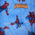 MadieBs Flannel Spiderman  Personalized  Pillowcase