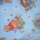 MadieBs Pooh on Blue  Fleece Toddler Baby Blanket 30c36