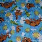 MadieBs Scooby Doo Aqua Toddler Pillowcase w/name