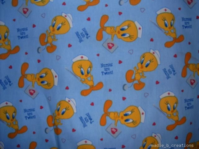 MadieBs Tweety Bird Nurse  Custom  Pillowcase  w/Name