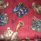 MadieBs Musical Bears Drums Horn Crib Sheet Custom New