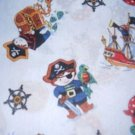 MadieBs Little Pirates Ships Crib/Toddler Bed Sheet Set