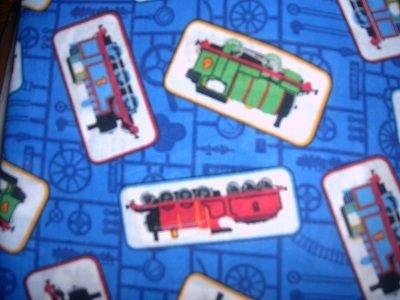 MadieBs Thomas Train Tanks  Crib/Toddler Bed Sheet Set