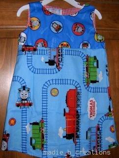 MadieBs Thomas the Train Dress/Jumper SZ 3 /3T