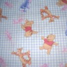 MadieBs Gingham Winnie the Pooh   Crib Sheet Custom New