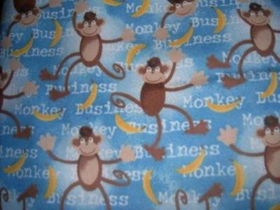 MadieBs Monkey Business  Custom  Pillowcase  w/Name