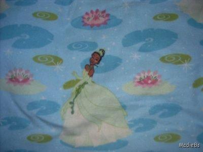 MadieBs Frog PrinncessToddler Bed Sheet Set 3 Pc