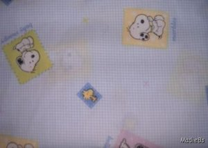 MadieBs Snoopy Belle Marbles Toddler Bed Sheet Set 3 Pc