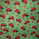 MadieBs LadyBugs and Hearts  Custom  Pillowcase  w/Name