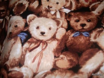 MadieBs Teddy Bears Packed Custom  Pillowcase  w/Name