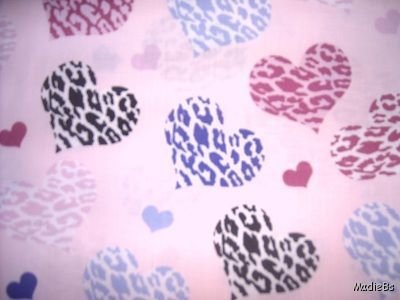 MadieBs Multi Hearts  Custom  Pillowcase  w/Name