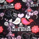 MadieBs Valentine Love Birds Custom Pillowcase w/Name