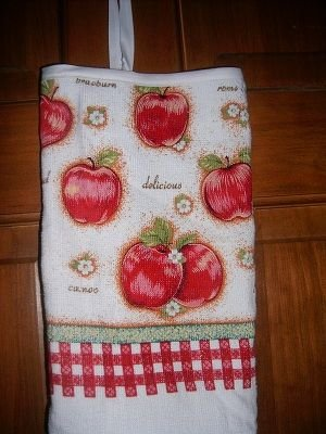 MadieBs Apple Variety   Plastic Bag Holder Dispenser