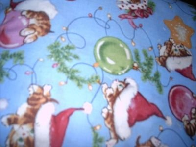 MadieBs Christmas Kittens Custom  Pillowcase  w/Name