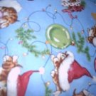 MadieBs Christmas Kittens Custom  Pillowcase  w/Name