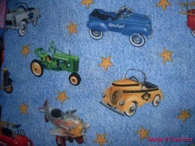 MadieBs Old Kiddie Cars 40's Custom  Pillowcase  w/Name