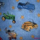 MadieBs Old Kiddie Cars 40's Custom  Pillowcase  w/Name