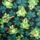 MadieBs Frogs & Shamrocks  Custom  Pillowcase  w/Name