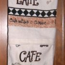 MadieBs Cafe Latte Cups  Plastic Bag Holder Dispenser