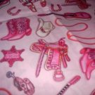MadieBs Glitz Cowgirl Custom Pillowcase  w/Name