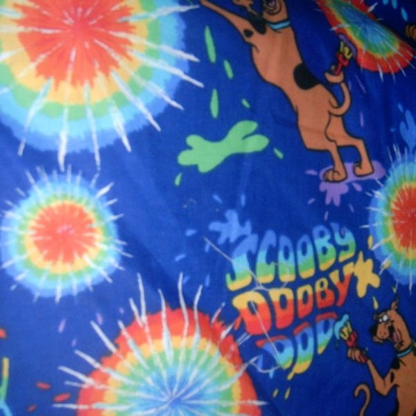 Madiebs Scooby Doo Custom Nap Mat Pad Cover W Name