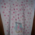 MadieBs Cute Cat Kitten White with Pink Special Needs Bib Adult