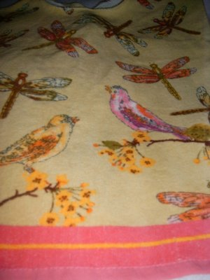 MadieBs Birds and Dragonflies Special Needs Bib Adult