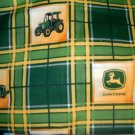 MadieBs John Deere Plaid Personalized Pillowcase