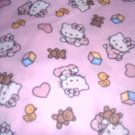 MadieBs Hello Kitty Nap Mat Pad Cover 3 Pc Set w/Name