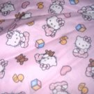 MadieBs  Hello Kitty Pink Crib Toddler Bed Sheet Set New