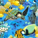 MadieBs Tropical Fish Fun Crib Toddler Bed Sheet Set New