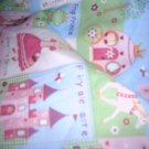 MadieBs Princess Castle  Crib Toddler Bed Sheet Set New