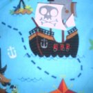 MadieBs Little Pirates Ship Ocean  Nap Pad Cover w/Name