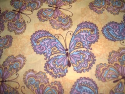 MadieBs Butterflies  Nap Mat Pad Cover w/Name