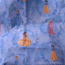 MadieBs Disney Princess Blue Mat Pad Cover Set w/Name