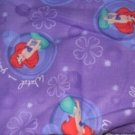 MadieBs  Ariel Kinder Nap Mat Pad Cover Set  w/Name