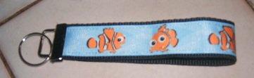 MadieBs Nemo Clown Fish Key Fob Wristlet New