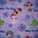 MadieBs My Little Pet Shop Lilac Personalized Custom  Pillowcase  w/Name