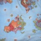 MadieBs Pooh Bear Fleece Blanket 30 x 36 New Baby Plush