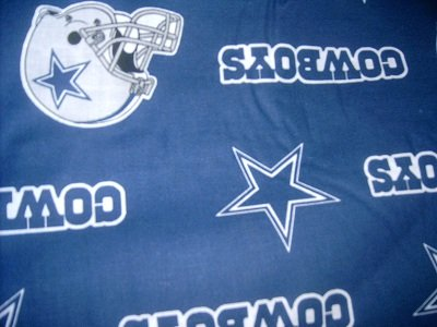 MadieBs Dallas Cowboys NFL  Bumper Pads w/Crib Sheet
