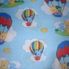 MadieBs Hot Air Ballons Custom Cotton Toddler Bed Sheet Set 3 Pc