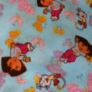 MadieBs Dora the Explorer with Butterflies an Boots  Custom Cotton Toddler Bed Sheet Set 3 Pc