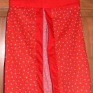 MadieBs Custom Red with White Polka Dots Diaper Stacker New