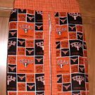 MadieBs Custom Texas Longhorns Orange Black  Diaper Stacker New