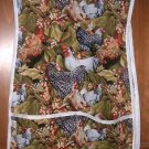 MadieBs Chickens Hens Roosters Smock Cobbler Apron