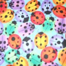 MadieBs Multi Colored Lady Bugs Cotton Personalized Custom  Pillowcase  w/Name
