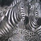 Zebra Lion Cat Juingle Safari Animal Personalized Custom  Pillowcase  w/Name