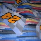Oh My  Nascar Rainbow  Nap Mat Pad Cover w/Name